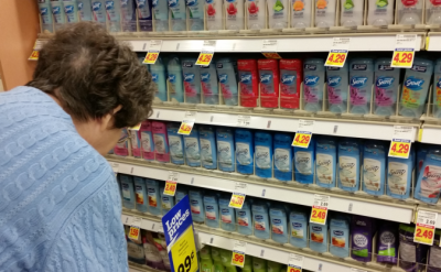 Adventure in the Deoderant Aisle